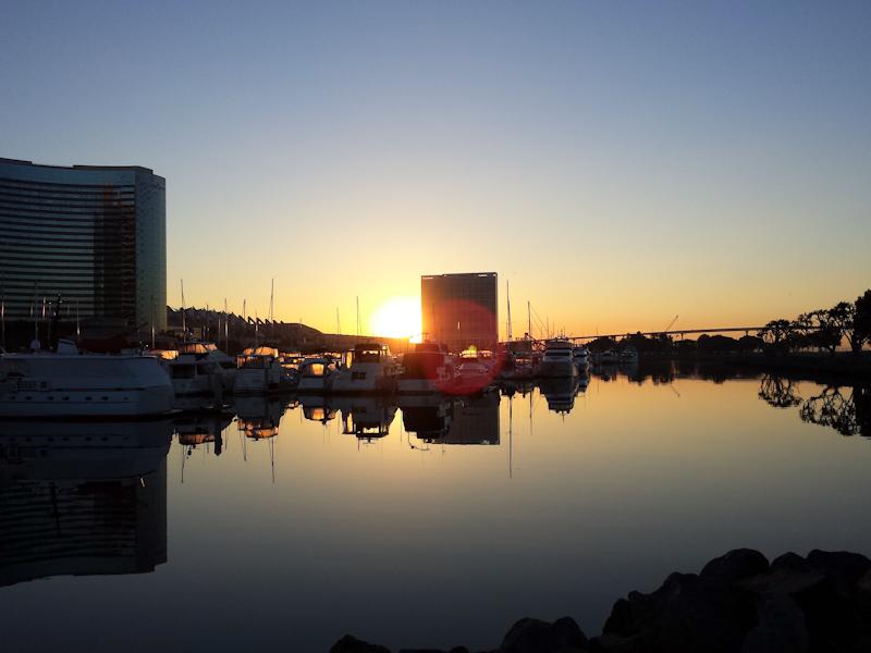 San Diego Trainings-Snapshot 06 - Sonnenaufgang