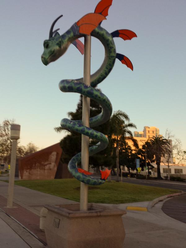 San Diego Trainings-Snapshot 08 - Kunst am Hafen