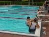 Schwimmbad, im Wasser