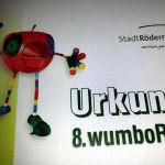 wumboR-Lauf: Urkunde